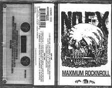 NOFX E Is For Everything On Mystic aka Maximum Rock N Roll Cassette Tape not lp!