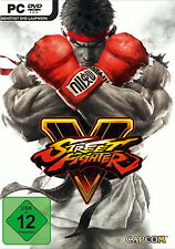 Street Fighter V (PC, 2016, DVD-Box) - neu + OVP