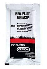 RED FLUID CHAINSAW GUIDE BAR GREASE 50ml x 10 SACHETS by OREGON