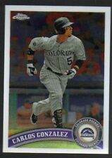 2011 Topps Carlos Gonzalez Colorado Rockies #110 Baseball Card