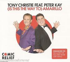 TONY CHRISTIE/PETER KAY - (Is This The Way To) Amarillo (UK 4 Trk Enh CD Single)