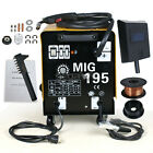 195 AMP DUAL MIG-195 Flux Core Auto Wire Welder Welding Machine New