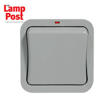 BG WP12 - Weather Proof / Waterproof 1 Gang Single Outdoor Light/Wall Switch