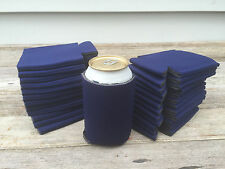 LOT of 25 NAVY BLUE Can Coozies Blank Beer Soda Coolers Koozie® Coolies