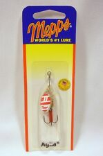 Mepps Aglia French Spinner 1/8 Silver Red White Fishing Lure Treble Hook