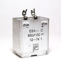 MIL-Spec Tantal-Kondensator, ERO Tantalkondensator, 680 µF / 50 V