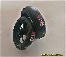 1:12 Tire Warmers Honda Valentino Rossi - Simoncelli - Marquez Set to minichamps