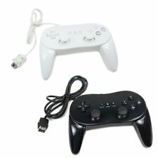 2 X New Classic Pro Remote Controller For Black&white US Ship For Wii 1Z