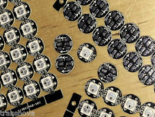 NEW BLACK PCB 50 RGB LED WS2812B Individually Addressable SMD 5050 DC5V Input