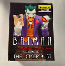 "Batman The Animated Series ""Laughing Fish"" The Joker Bust EE Exclusive"