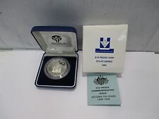 1985 Royal Australian Mint State Series Victoria Sterling Silver $10 Proof Coin