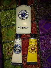 lot L'Occitane karité mains et corps