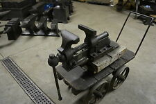 RARE 6 INCH PETER WRIGHT BENCH VISE W JAWS LIKE A POST VISE Blacksmith Anvil