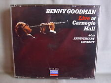 Benny Goodman- LIVE at Carnegie Hall- 2-CD-Box- LONDON/ DECCA Made in W.Germany