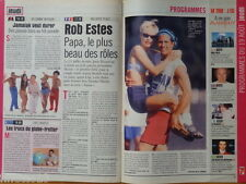 ROB ESTES Melrose Place Coupure de presse 1,5 pages 1999 - French clipping