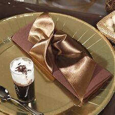 5m Ruban Satin CHOCOLAT Uni 60mm Décoration de Table Mariage Baptême fête