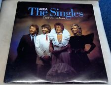 ABBA The Singles First Ten Years Excellent 2 x Vinyl Record ABBA 10