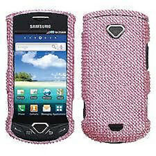 Pink Diamond Crystal Hard BLING Protector phone Case Cover for Samsung GEM i100