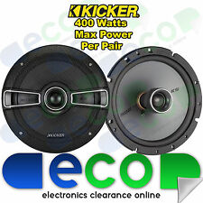 Fiat Punto 1993-2005 Kicker 16cm 6.5Inch 400 Watts 2 Way Front Door Car Speakers