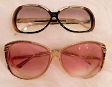 Vintage Yves Saint Laurent and Winntics Women's Sunglasses 1980's Jackie O
