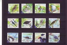 VANUATU - SG1118-1129 MNH 2012 BIRDS OF VANUATU DEFINITIVES 10v - 1000v