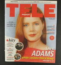 AMY ADAMS  mag.FRONT cover Poland  TELE MAGAZYN