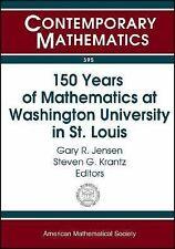 150 Years of Mathematics at Washington University in St. Louis (Contem-ExLibrary