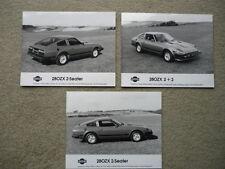 DATSUN 280 ZX PRESS PHOTOS - 3 brochure  jm