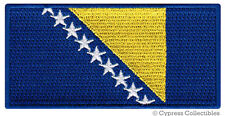 BOSNIA HERZEGOVINA FLAG embroidered iron-on PATCH BOSNIAN EMBLEM Yugoslavia