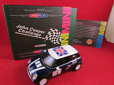 Corgi - New Mini Cooper - John Cooper Challenge No.1 Ltd Edition  1.36 - CC86512