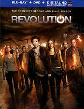 Revolution Complete Second Season  Blu-ray & DVD NEW disc/case/cover-no digital