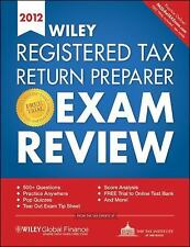 Wiley Registered Tax Return Preparer Exam Review 2012  -NEVER USED