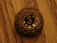 Original WW1 AUSTRIAN Officers Bullion-wire FJI Hat Roundel Insignia