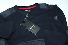 Barbour Land Rover Crook Crew Navy Sweater MKN0615NY71 Extra Large XL Euro