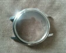 Vintage Stainless Steel Chronograph Case only NOS screw back! 38mm