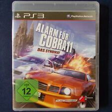 PS3 - Playstation ► Alarm für Cobra 11: Das Syndikat ◄ dt. Version | TOP Zustand