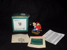 WDDC CHRISTMAS ORNAMENT MICKY MOUSE 1995 PRESENTS FOR MY PALS PLUTOS CHRISTMAS T