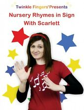 Nursery Rhymes in Sign DVD new out June 2013 BSL the fun way for children!
