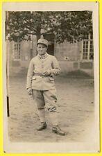 cpa carte Photo Militaire CASERNE Service SOLDAT du 38e Régiment