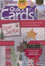 Quick Cards made easy Magazine - Issue 158 - November 2016