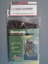 CAMO MESH FACE MASK HEAD NET REMINGTON CAMOUFLAGE POLY MESH HEAD FACE MASK NET