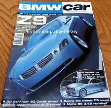 BMW Car November 199 - AC Schnitzer E46 Coupe S3 3.2 - Frankfurt Motor Show