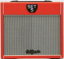 California Electric Guitar Amp All Tube,  Red, SET5 RED