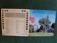 TROMPES du MUSEE de la VENERIE de SENLIS - FANFARES LP gatefold FESTIVAL FLD 705