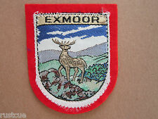 Exmoor Woven Cloth Patch Badge