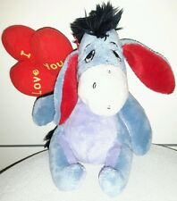 PELUCHE IH-OH ASINO I LOVE YOU BALOON - DISNEY - Winnie The Pooh Plush Figure