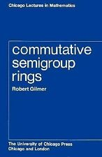 Chicago Lectures in Mathematics Ser.: Commutative Semigroup Rings by Robert...
