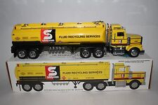 SAFETY-KLEEN 1996 LIMITED EDITION TANKER TRUCK, 1 OF 5,000 WITH COIN BANK