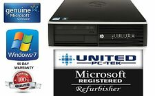 HP 6200 Pro 250GB Win 7 Professional Core I5 Quad 3.1GHz 4GB RAM DVD Desktop