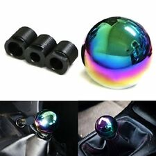 Car SUV Manual/Automatic Colorful Chrome Ball Gear Shift Shifter Knob Head JDM